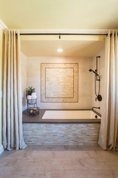 Drop In Tub Shower Curtain Google Search Cool Bathrooms In 2018
