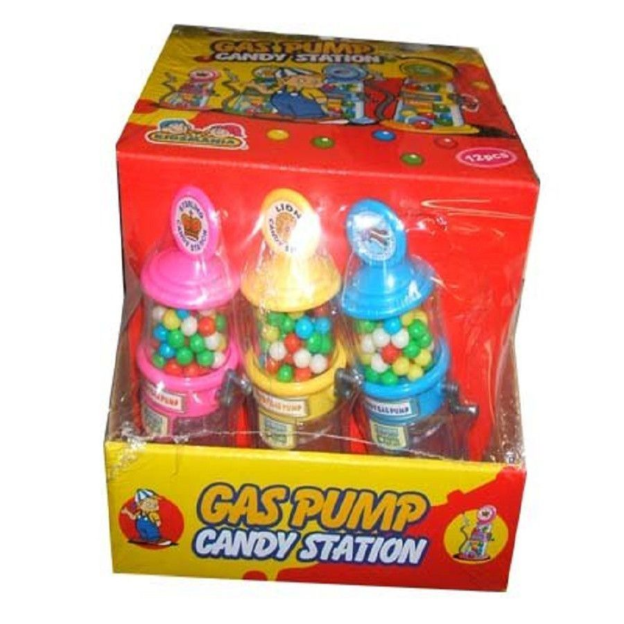 Kidsmania Gas Pum Candy Station Twelve Mini Candy Stations