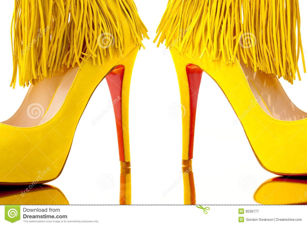 yellow | Suede high heels, Heels