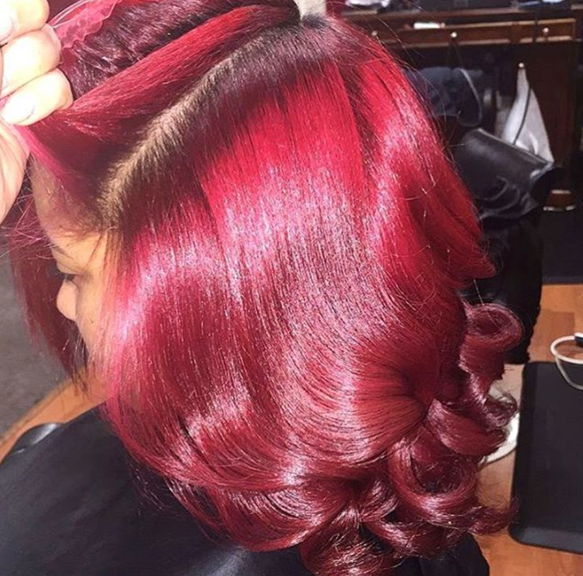 Vibrant Blow Out And Color Dorthyandthetinman Https