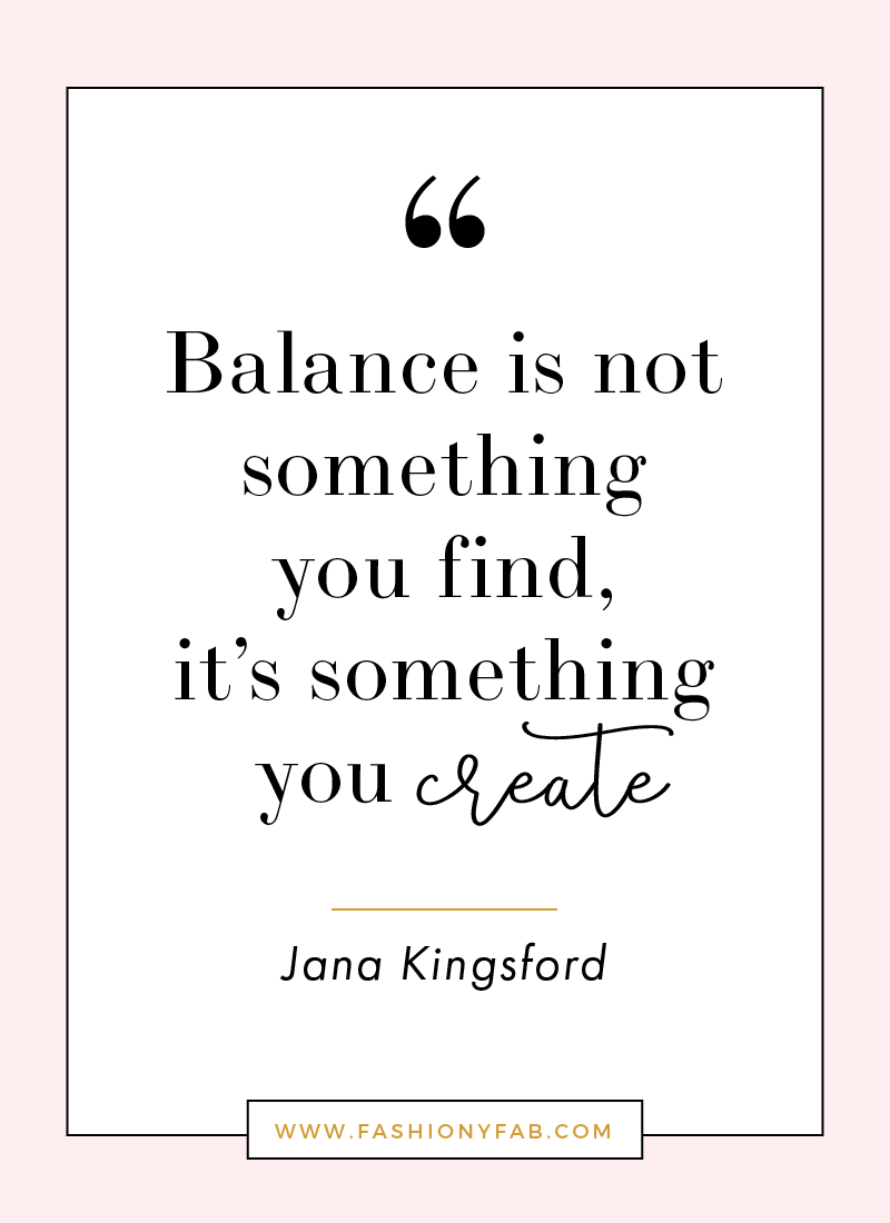 Inspirational Quotes To Live By How To Create Balance In Your Life  Inspirational Fabulous