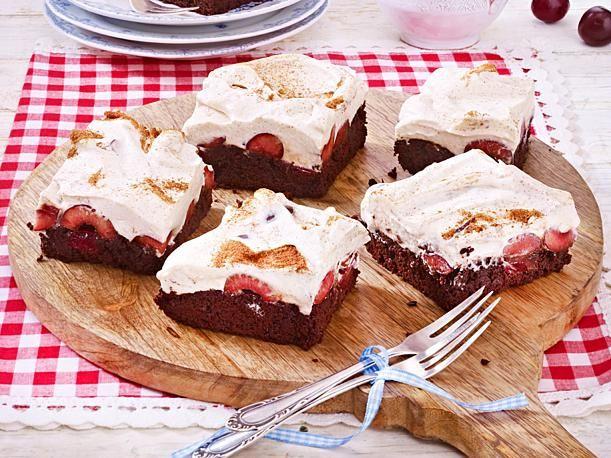 Zimt Kirsch Schnitten Rezept Lecker Lecker Backen Kuchen Und Torten