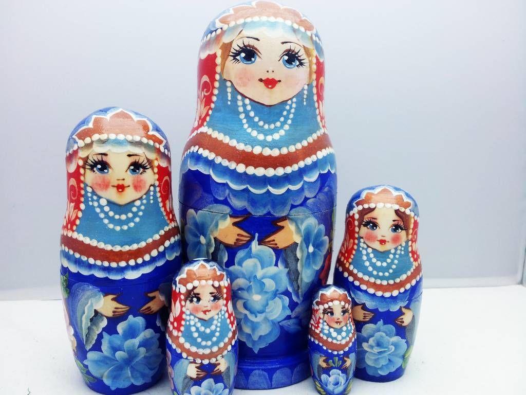 124-Russian Matryoshka-wooden doll   Matryoshka - Beautiful ...