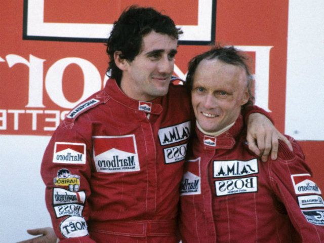 alain prost et niki lauda une rivalit mythique revivre en exclusivit f1 pinterest. Black Bedroom Furniture Sets. Home Design Ideas