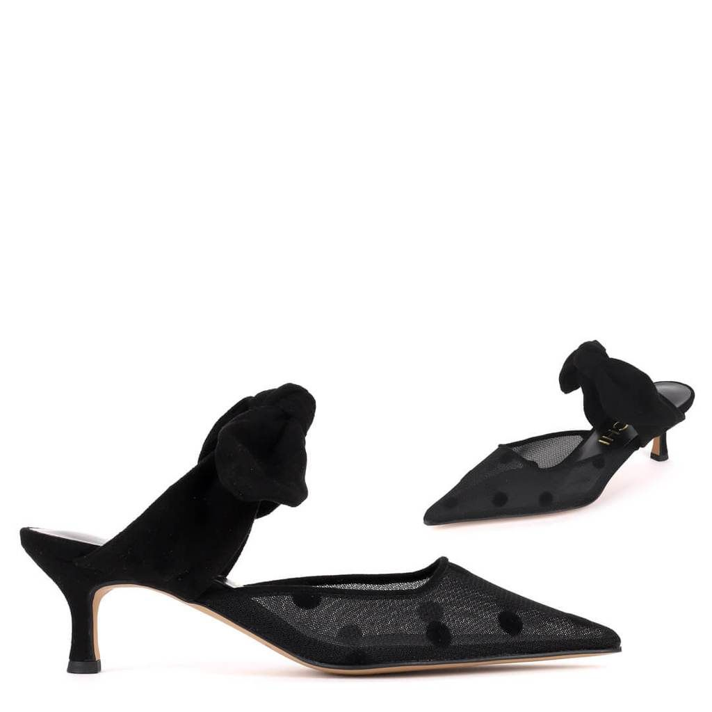 Surang glam mule how to make shoes black slip ons