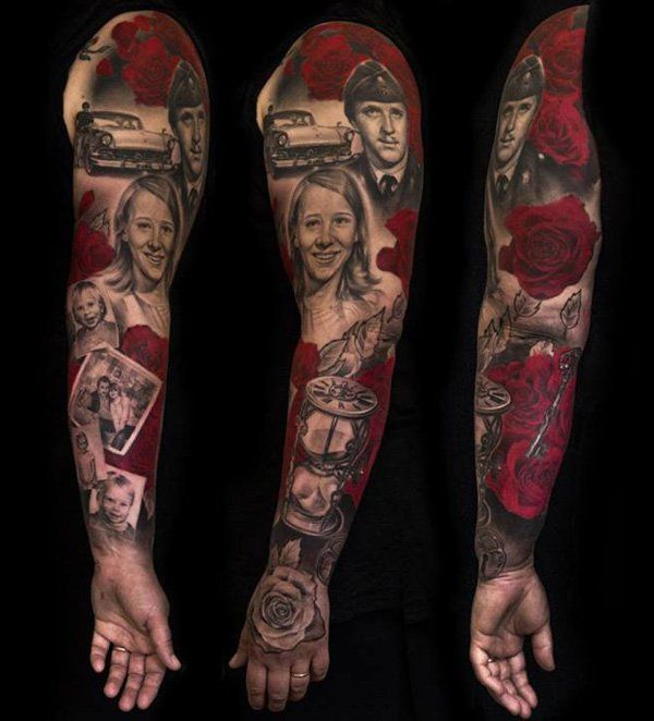 95 Awesome Examples of Full Sleeve Tattoo Ideas | Full sleeve ...