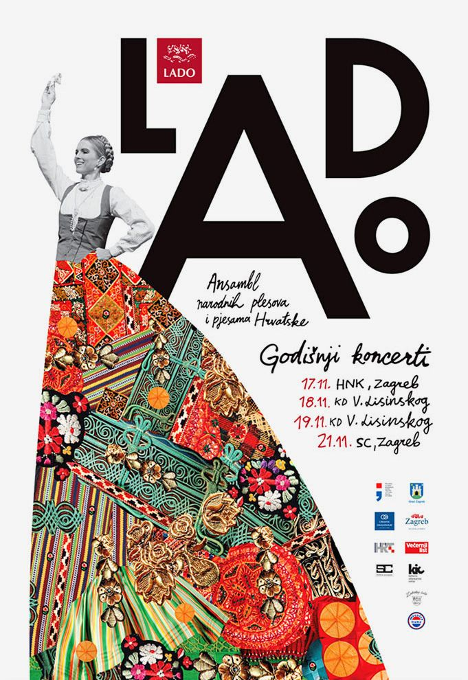 Ensemble Lado New Visuals Graphic Design Ads Dance Poster Graphic Poster
