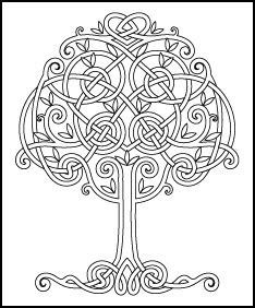 Traditional Quilt Coloring Pages