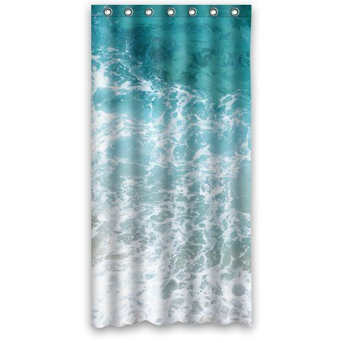 Amazon Com Funny Shower Curtain Water Polyester Fabric