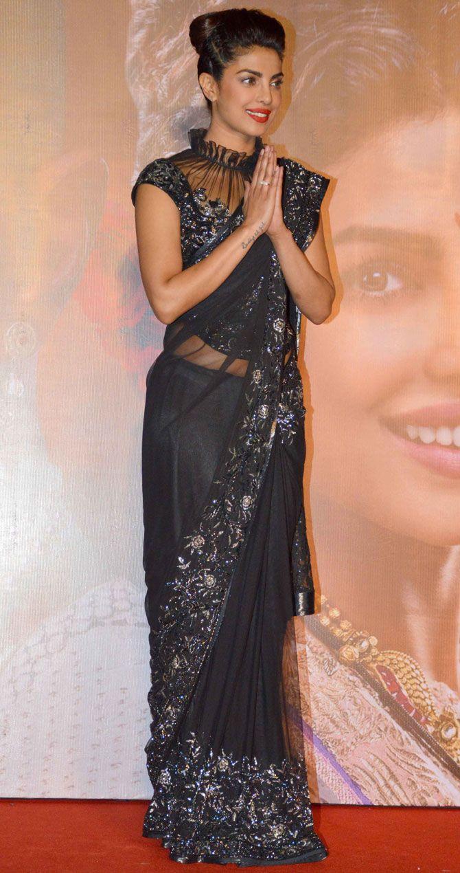 Priyanka Chopra at the #Malhari song launch from #BajiraoMastani ...