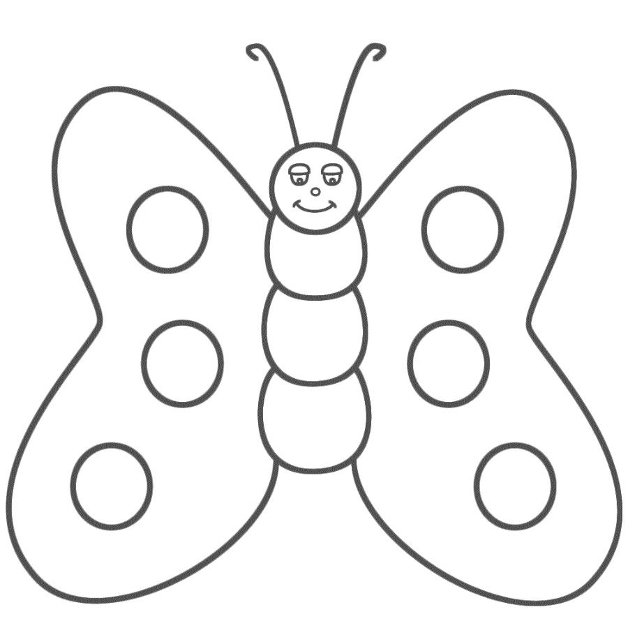 Dibujos De Mariposas Infantiles Mariposas Para Colorear Dibujos De Mariposas Infantiles Dibujos De Mariposas