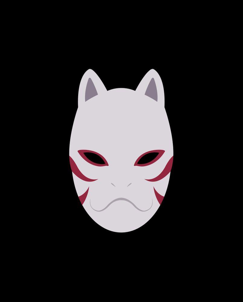 Anbu Sticker By Rikudou White 3 X3 Anime Itachi Illustration