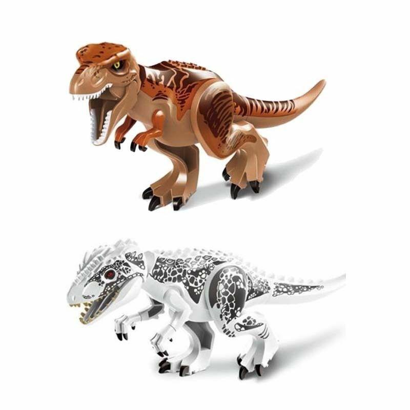 Dinosaur Figure Blocks Fit Lego Toys Indominus Rex XXL Large Full Size