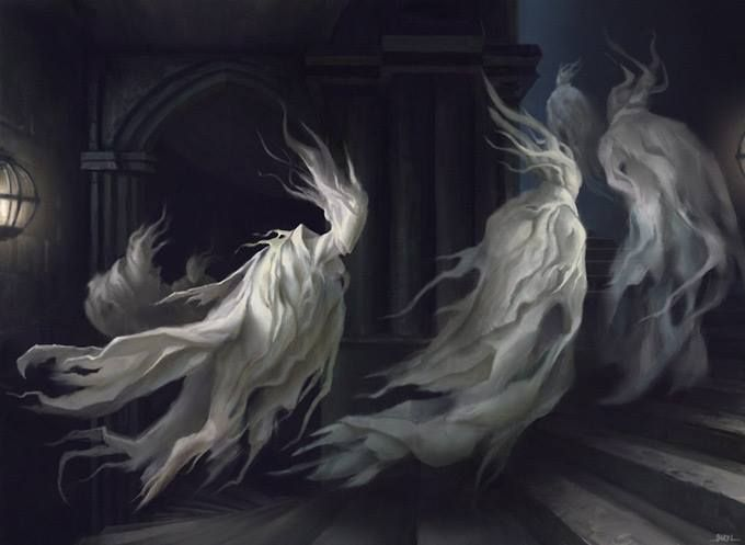 ghost procession
