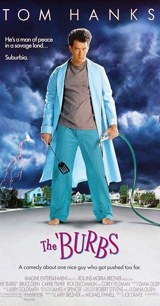 The Burbs Com Imagens Filmes Do Dia Das Bruxas Tom Hanks Os