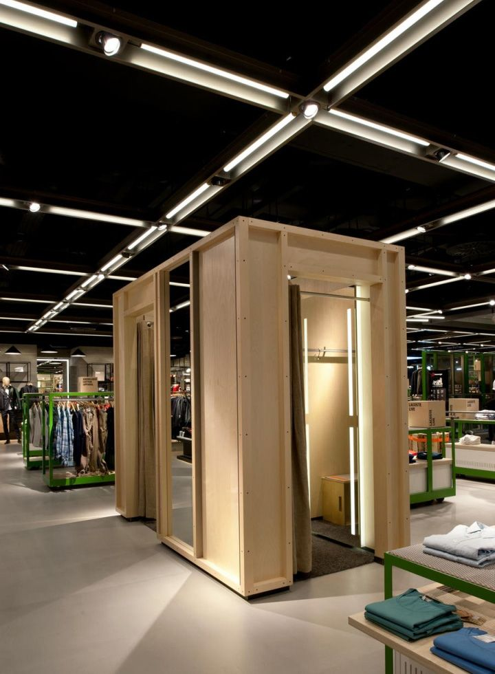 breuninger department store menswear area by brinkworth stuttgart rh pinterest com retail interior design blog Retail Design Drawings