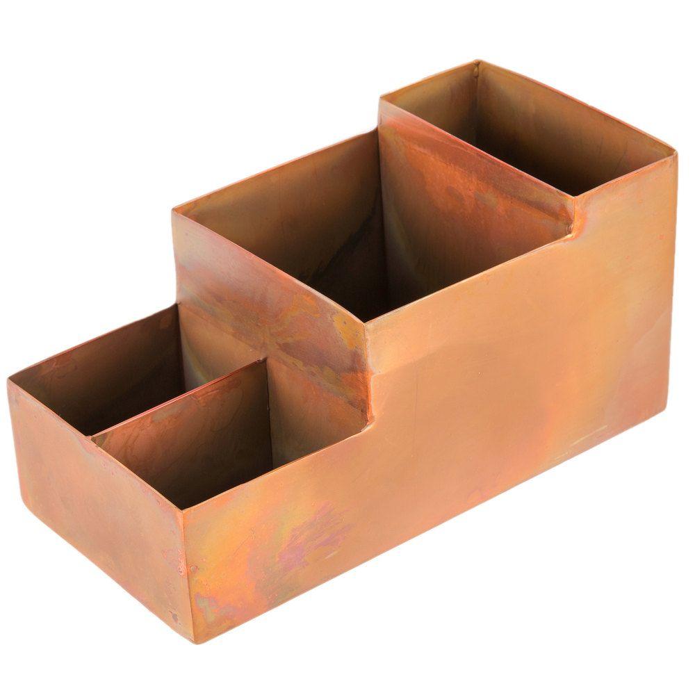 American metalcraft barc5 antique copper satin finish bar