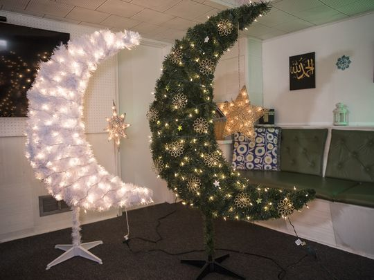 Muslim Moms Make Moon Trees for Ramadan in Detroit | About Islam