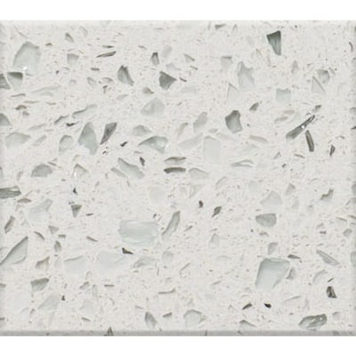 Curava Himalaya Recycled Glass Kitchen Countertop Sample Lowes Com In 2020 Glass Countertops Recycled Glass Countertops Kitchen Countertops