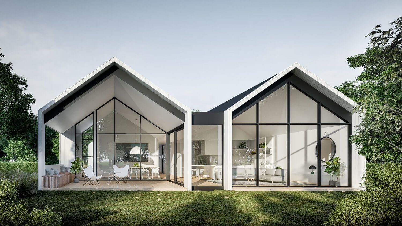 Exterior Scandinavian Home Design – TRENDECORS