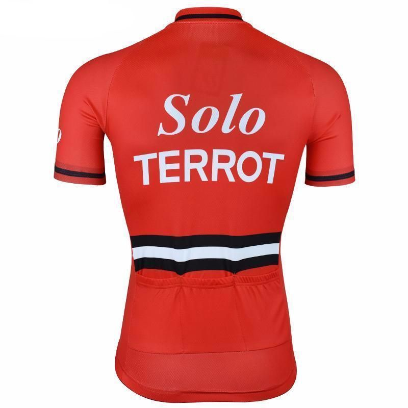 457eab076 Retro 1963 Solo Terrot Cycling Jersey