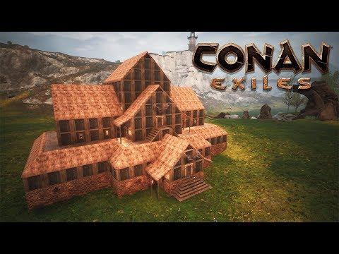 Conan Exiles Viking House Build 300 Youtube In 2020 Conan Exiles Viking House Building A House