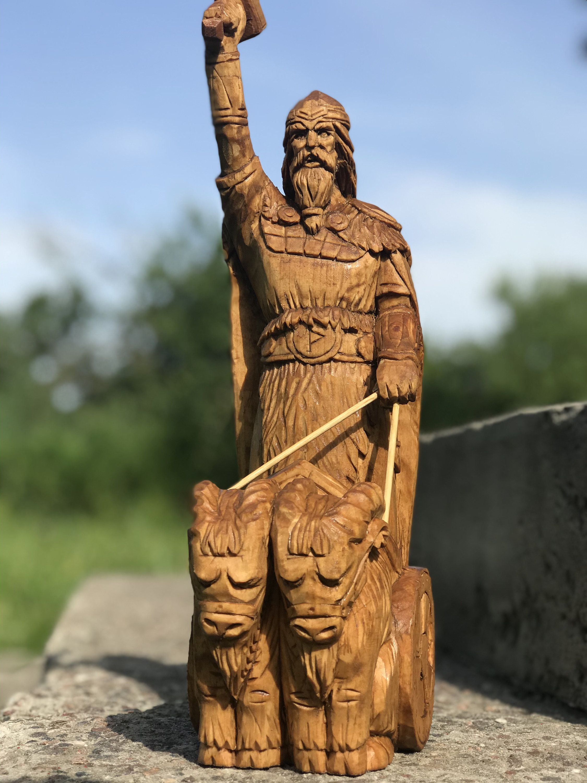 Thor, Thor statue, Nordic God, Scandinavian God Odin
