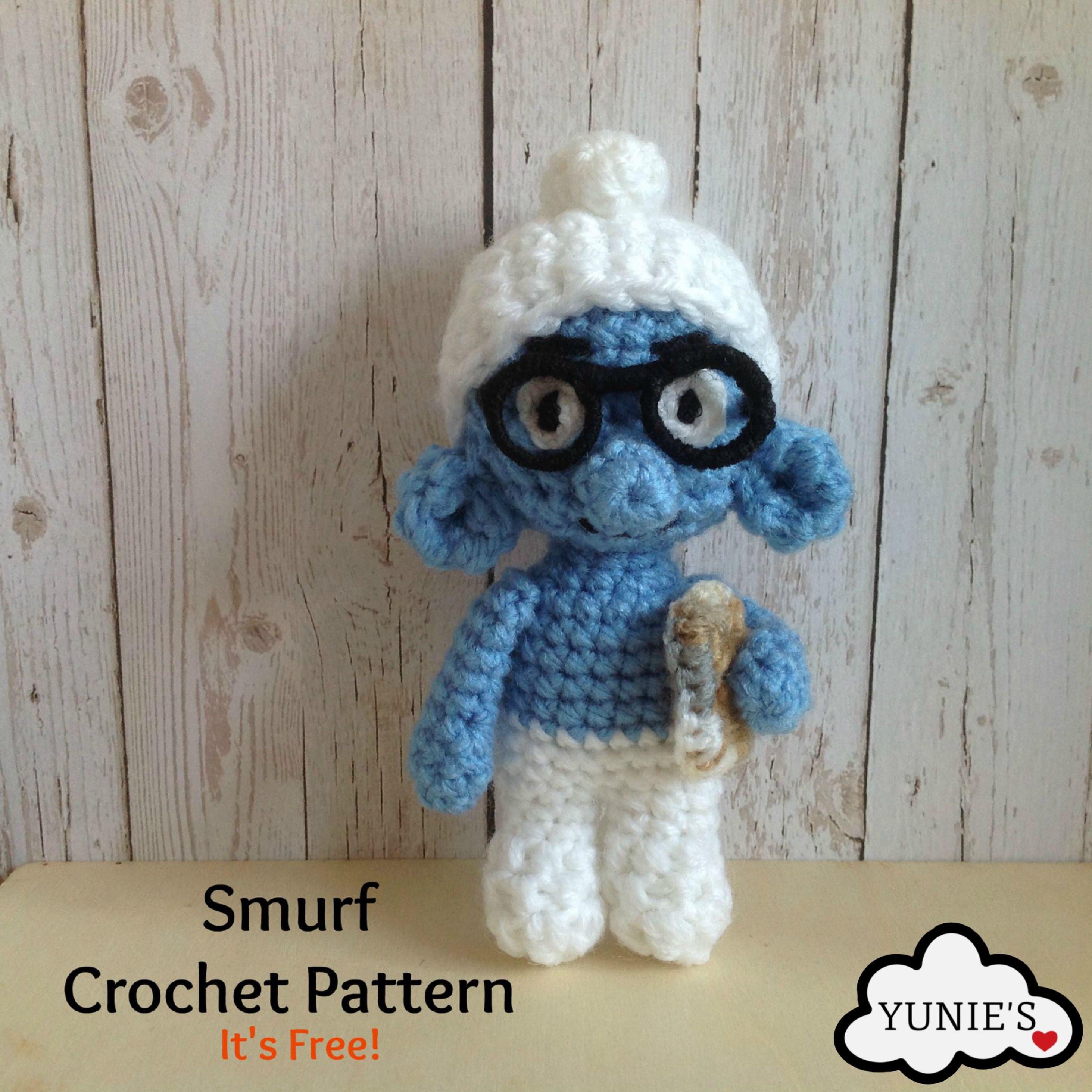 Smurf free crochet pattern | crafts | Pinterest | Plastico magico ...