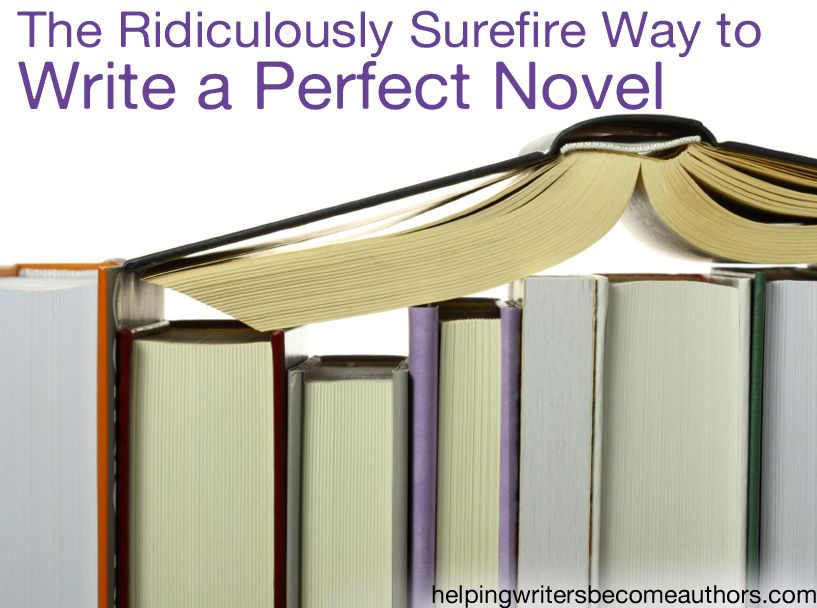 Is there such a thing as the perfect novel? And, if so, how does one go about writing it?