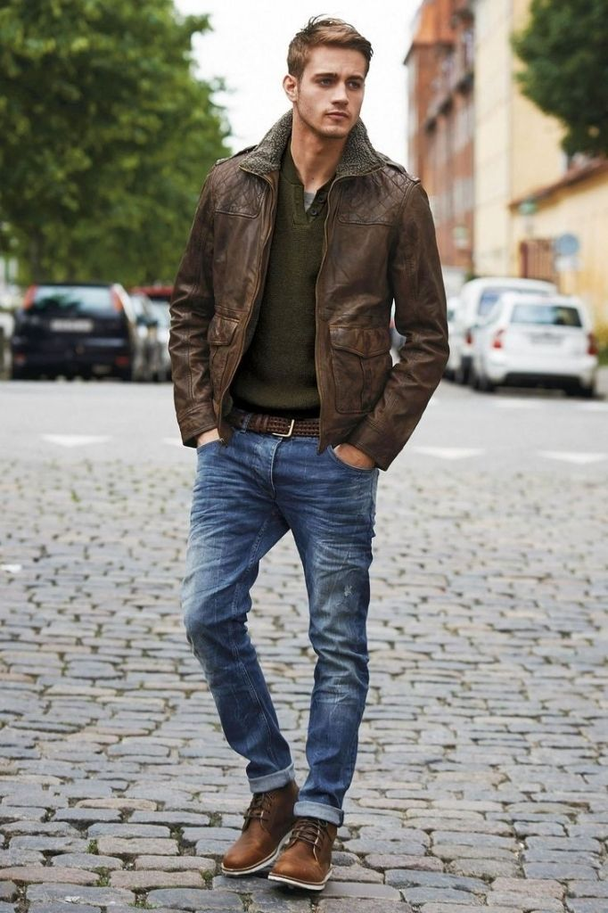 How to wear men casual boots