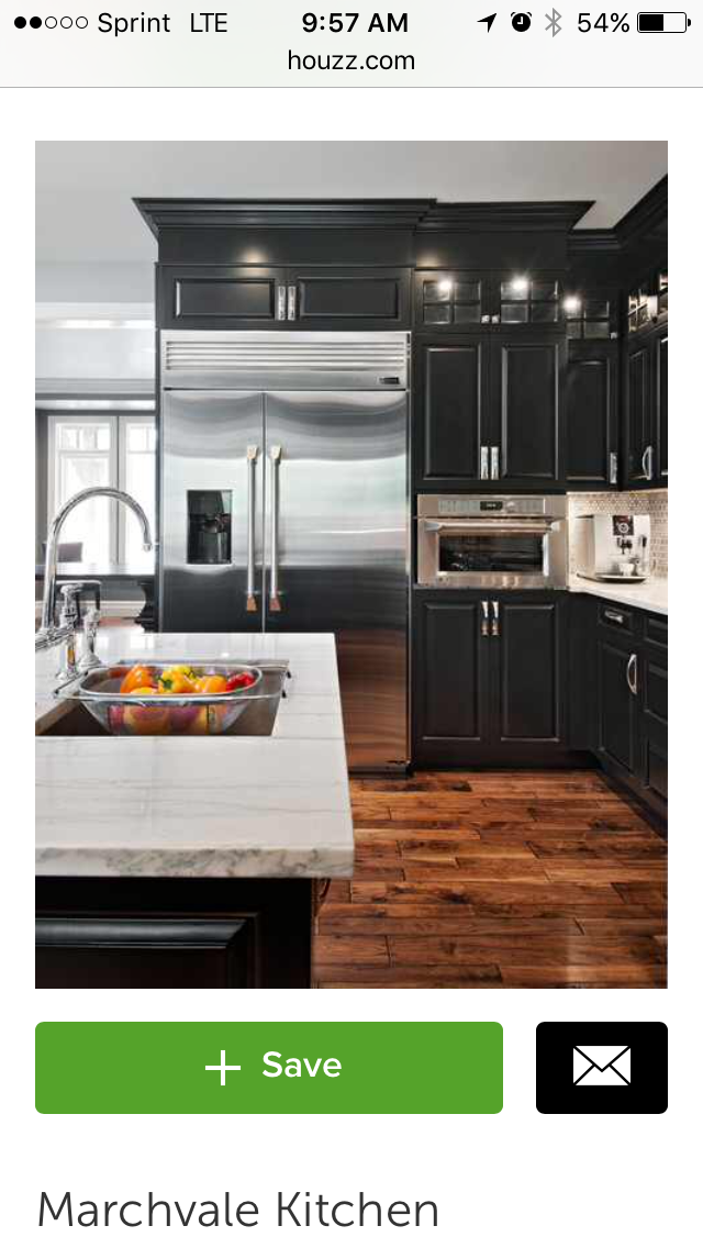love the dark cabinets and floor color black kitchen cabinets kitchen design kitchen cabinet on kitchen remodel dark floors id=68157