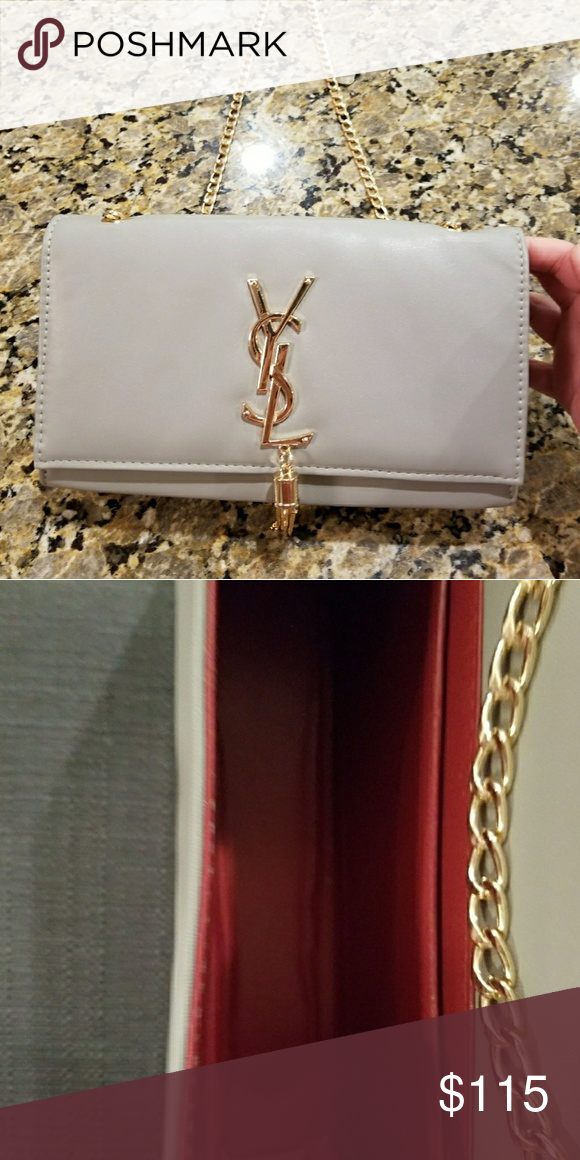 657ac321a4 YSL Chain Bag Gorgeous YSL Chain Bag !! Cheaper on 🅿 Perfect for the  fall!! Bags Crossbody Bags