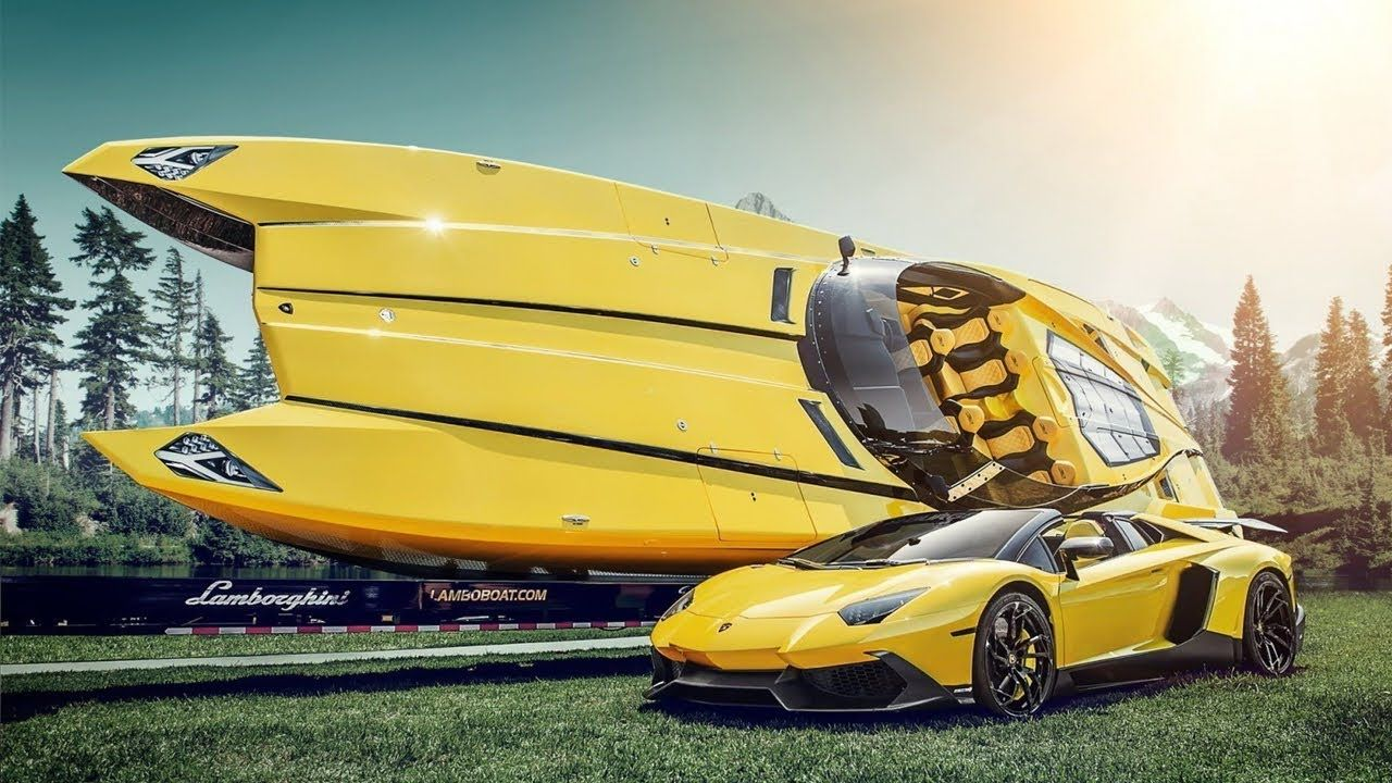 Exclusive Boats Made By Supercar Manufacturers Youtube Super Cars Sports Car Wallpaper Lamborghini Aventador