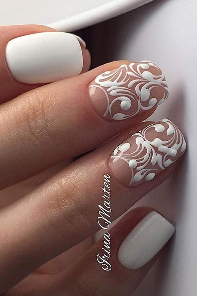 30 Exquisite Ideas of Wedding Nails for Elegant Brides | Wedding ...