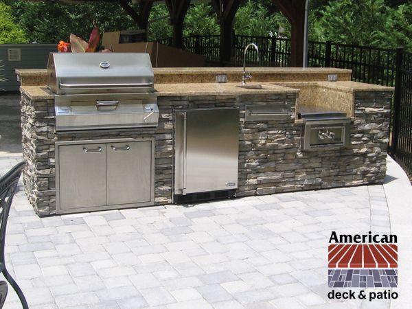 American Deck Inc Gallery Array Outdoor Kitchen Countertops Outdoor Kitchen Granite Countertops Kitchen