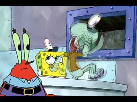 71fa76b2f92 YouTube Poop  Spongebob and Squidward Destroy Mr. Krabs  Electronics ...