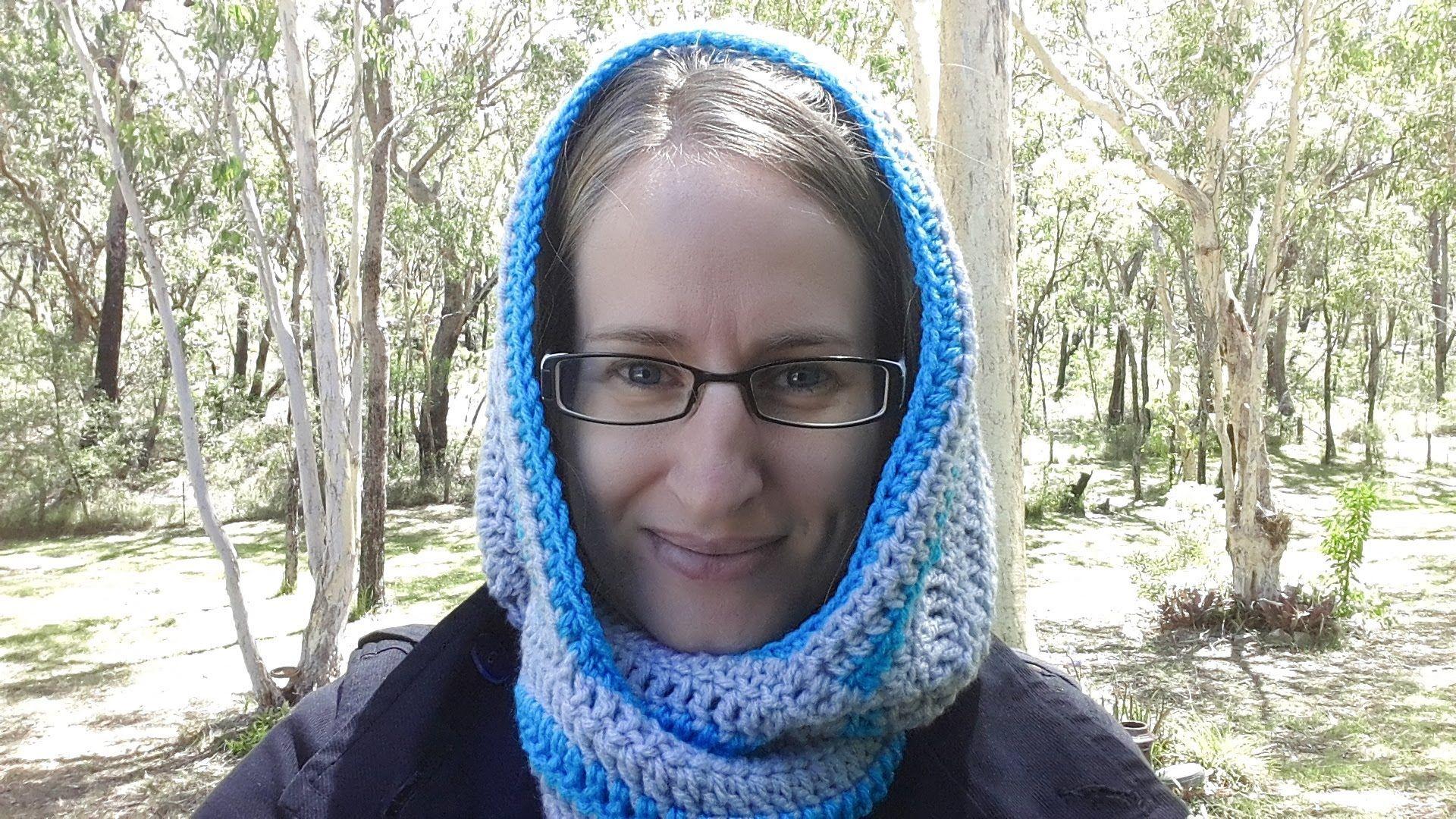 Crochet Scoodie Rounded Hood - with written pattern | Crochet ...