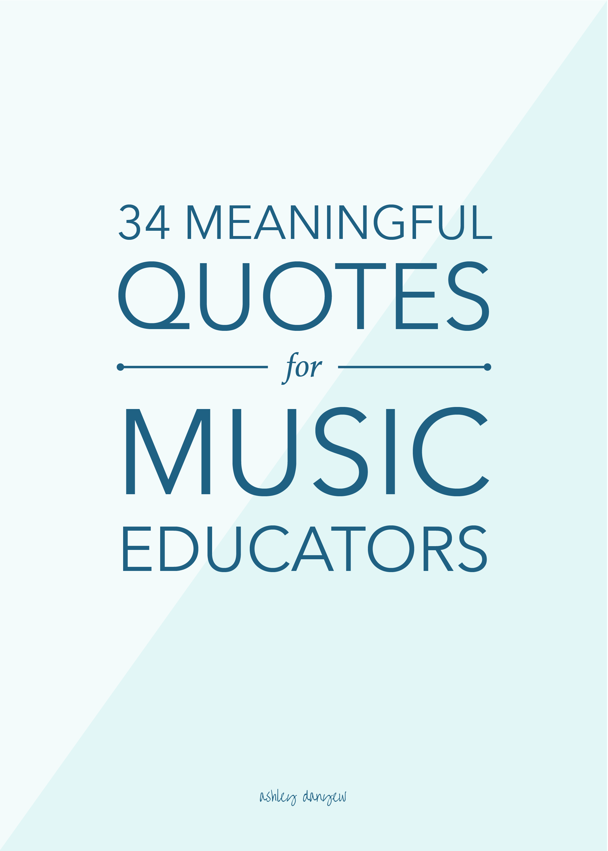 34 Meaningful Quotes for Music Educators | Music ideas | Music