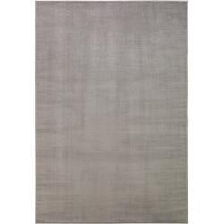 Photo of benuta Classic Kurzflor Teppich Velvet Hellgrau 80×150 cm – Moderner Teppich für Wohnzimmer benuta