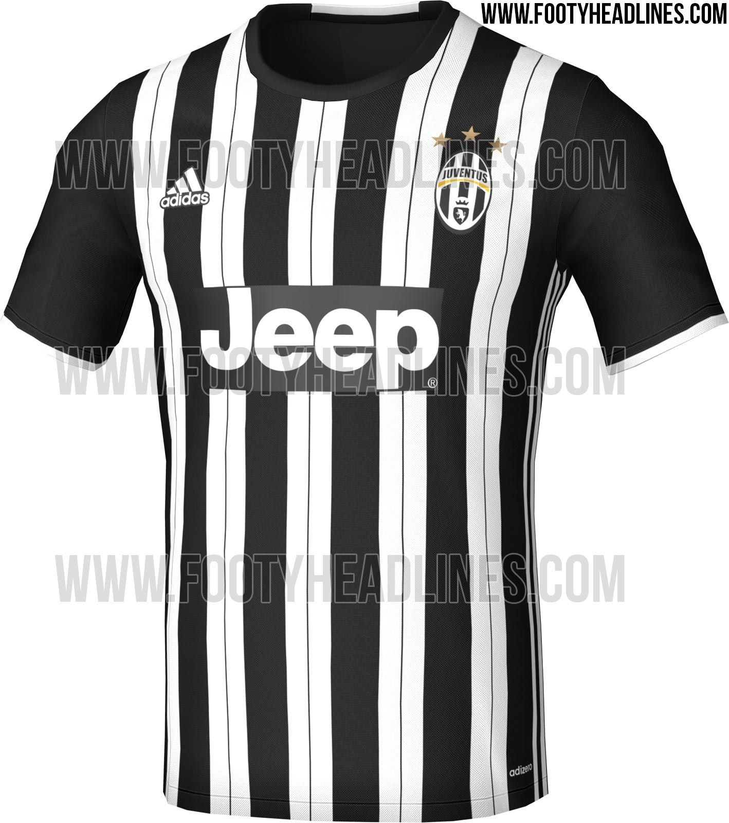 c0b0e3fc8a3 Juventus 16-17 Home Kit Leaked - Footy Headlines