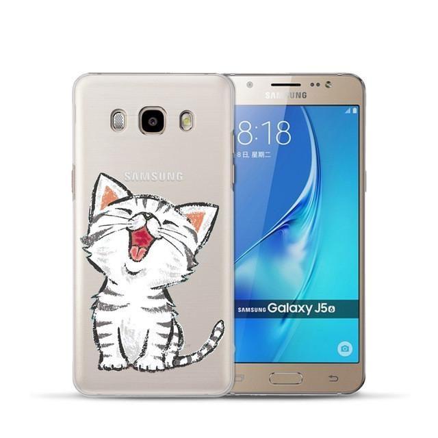 Cute Cartoon Hard Pc Phone Cover Coque Fundas For Samsung Galaxy J1 J3 J5 J7 A3 A5 A7 2016 2015 S6 S7 Edge Core Gra In 2021 Phone Cover Samsung Galaxy Grand Prime Case