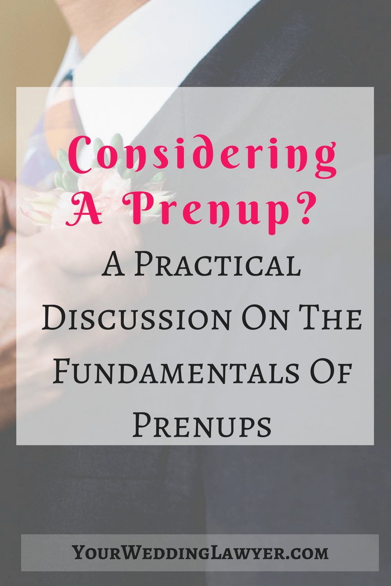 A Conversation With A Family Law Attorney Prenuptial Agreements 101