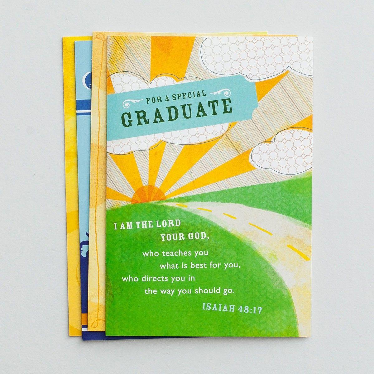 Graduation Contemporary Christian Inspirations 12 Boxed Cards
