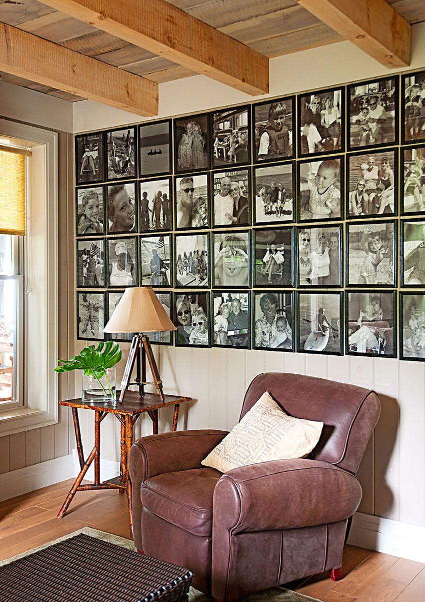 размещение фото на стене | Дом, Фото декор стен и Дизайн
