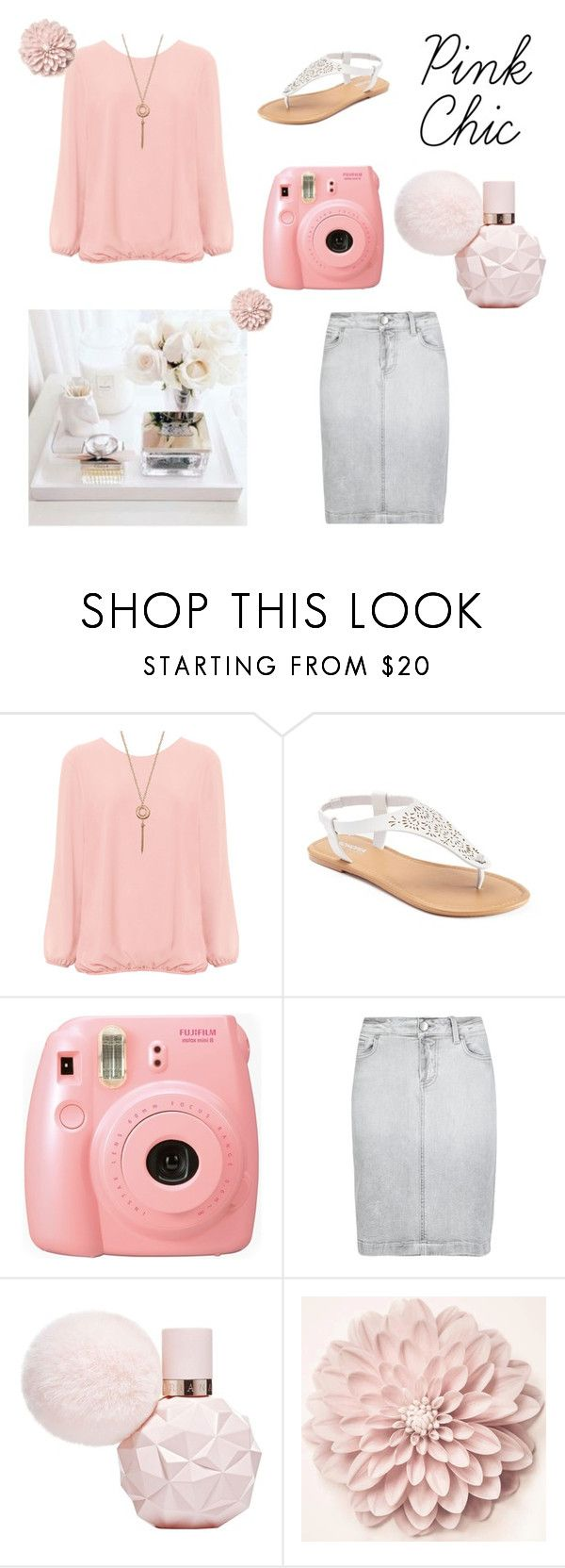 """Pink Chic ( read D box please)"" by missbeth1897 ❤ liked on Polyvore featuring WearAll, SONOMA Goods for Life, Fujifilm, M&S, Modest, Modesty and modestly"