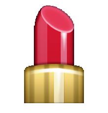 lipstick emojis pinterest rouges l vres iphone et. Black Bedroom Furniture Sets. Home Design Ideas