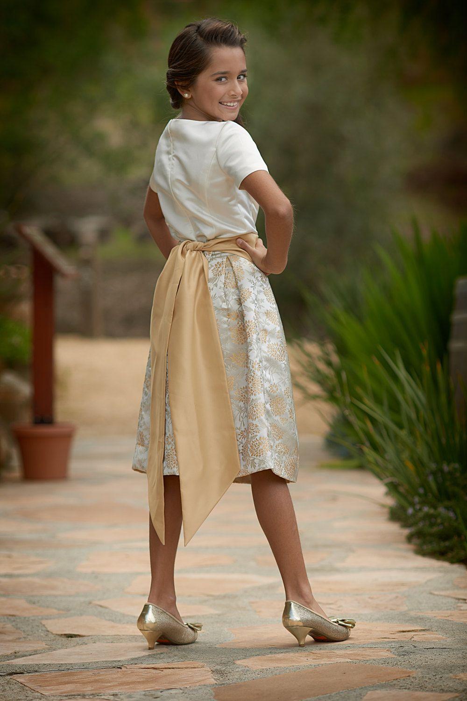 Junior Bridesmaid DressGirls DressFlower Girl Dress