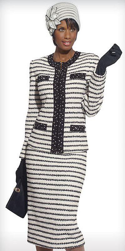558ccfeab1b Donna Vinci Knits 15085 Womens Church Suit
