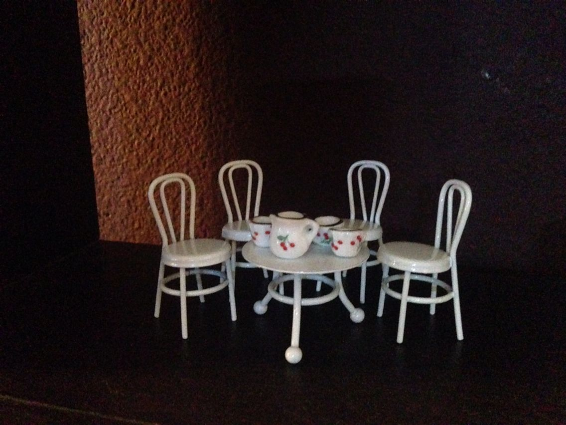 Mini Scene From Pretty Little Liars Promo   Used Dollhouse Furniture From  Michaels And Mini Tea