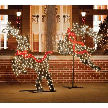 Decorating Landscaping A Front Yard Walmart Christmas Inflatables